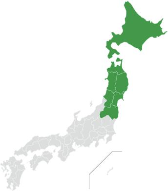 北海道・東北エリア